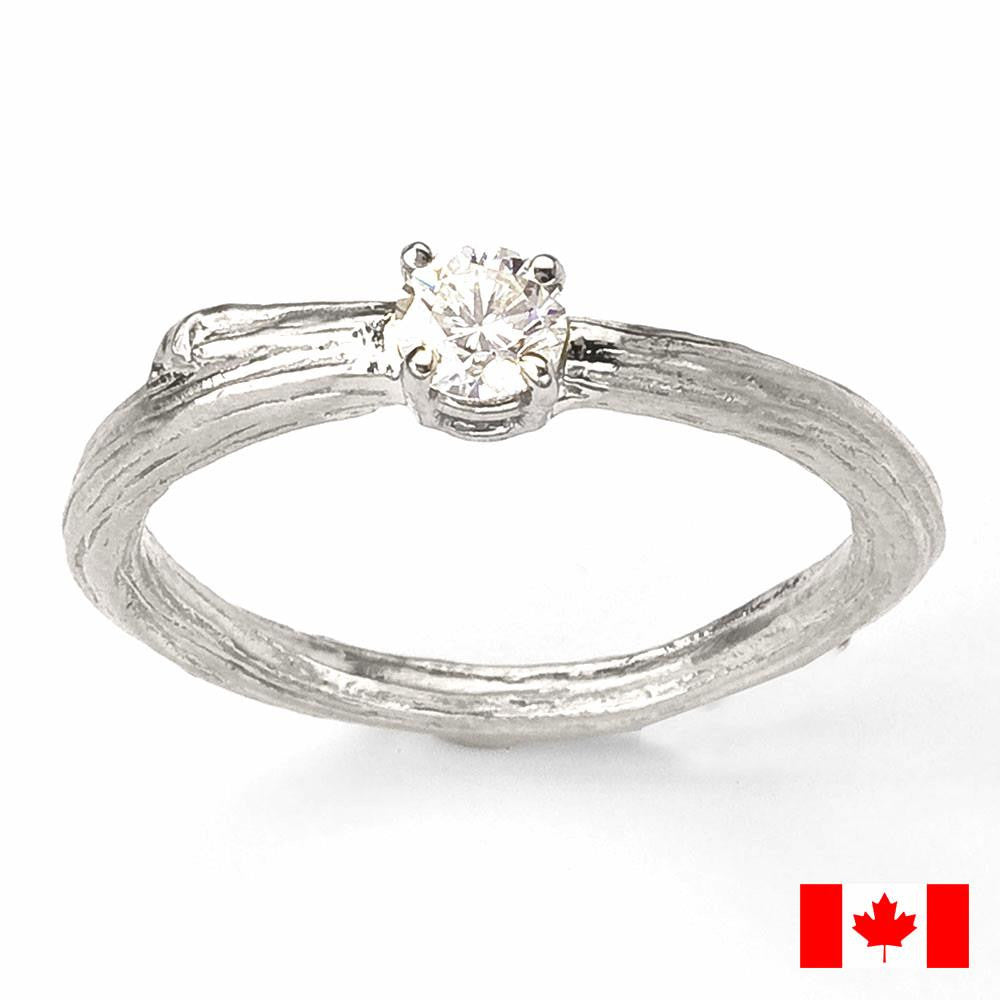 e set canadian ring stellar fire products engagement bezel nordic diamond gold round fields white
