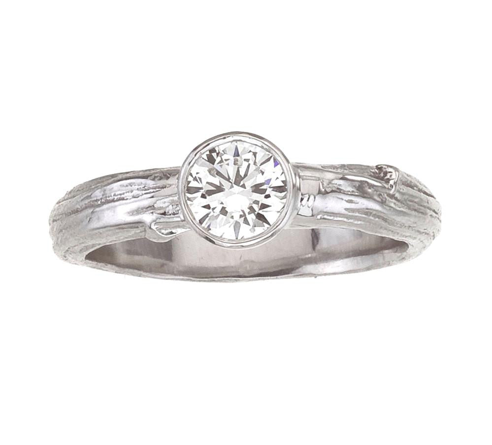 cool ring bevel in solitaire engagement platinum bezel set rings diamond ashvyau