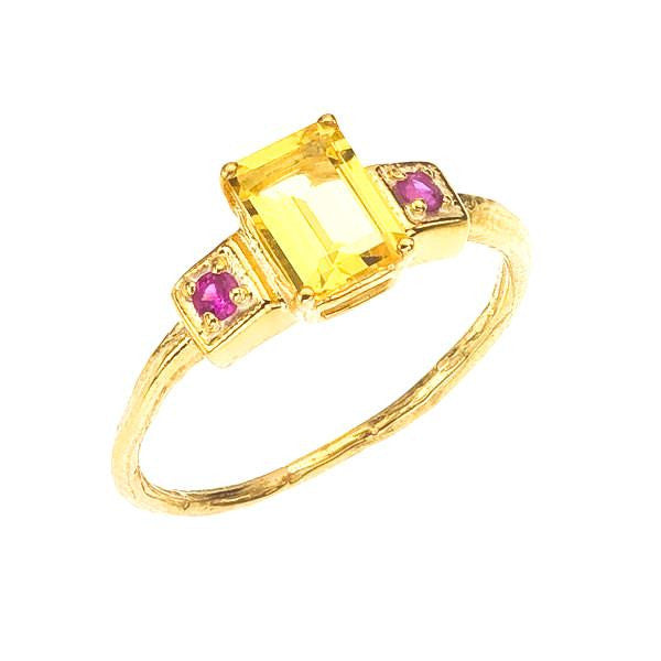 Beryllium Sapphire accented Golden Beryl cocktail ring by Barbara Polinsky.