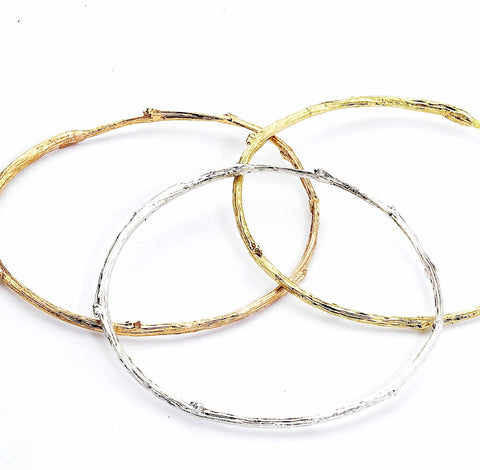 Golden Twig Bangle