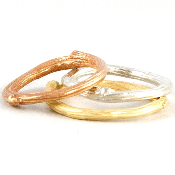 Set Twigs Stacking Rings