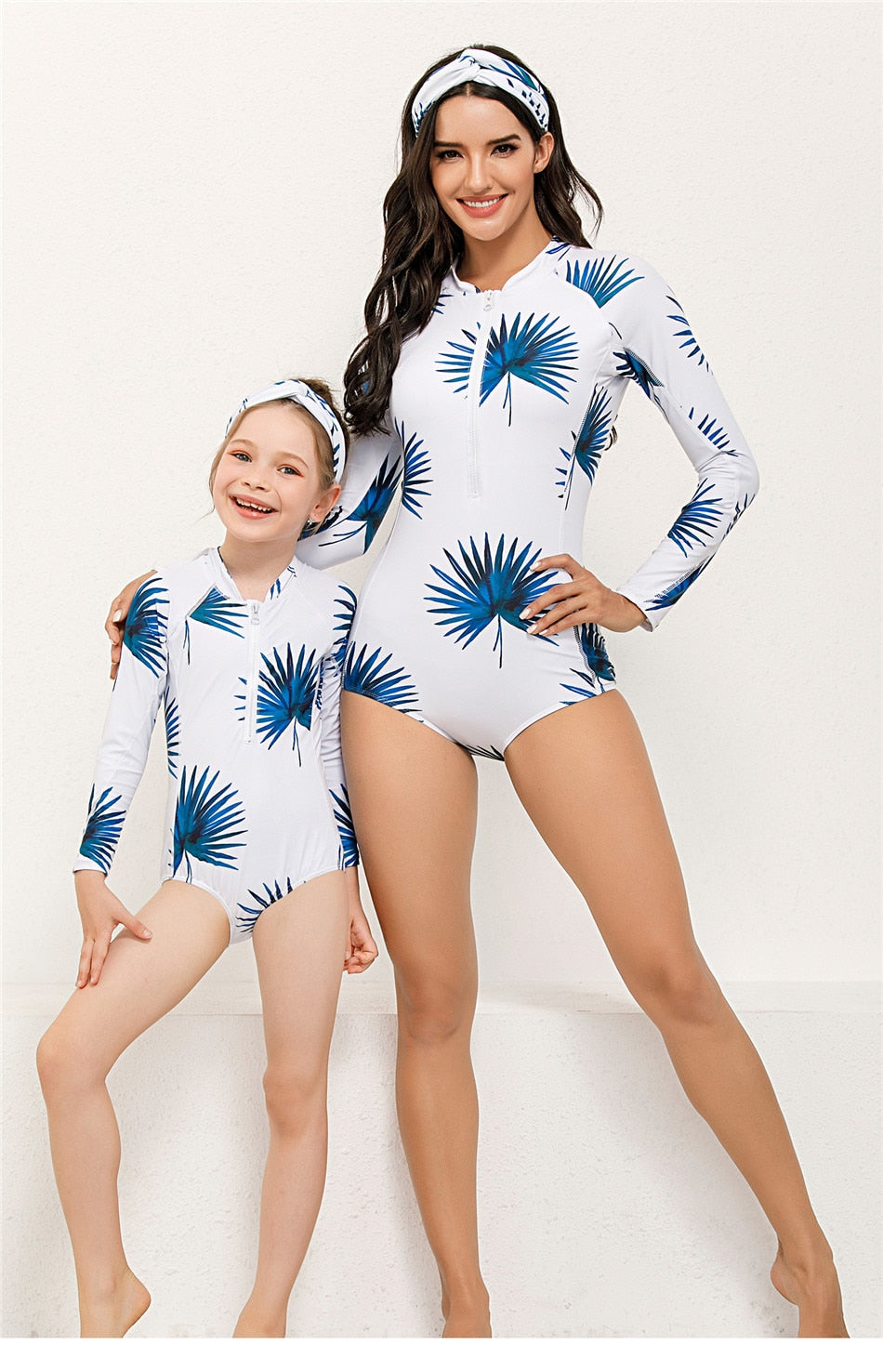 mommy and me matching bathing suit by ellmii.com