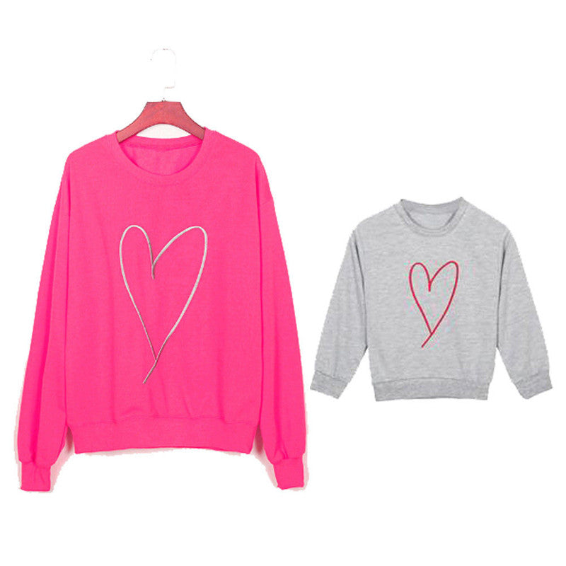 Heart Full Sweater - EllMii Boutique