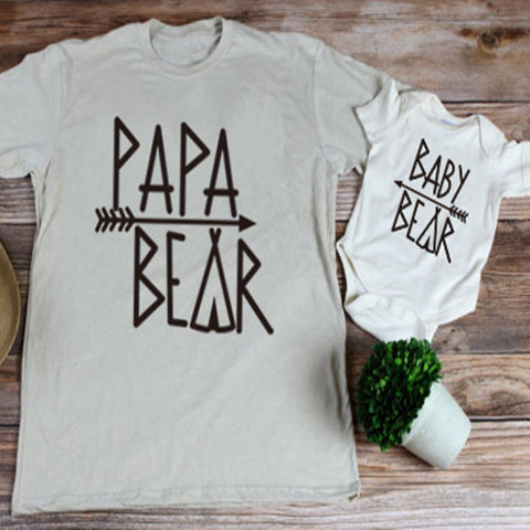 Family Bear Tribe T-Shirt