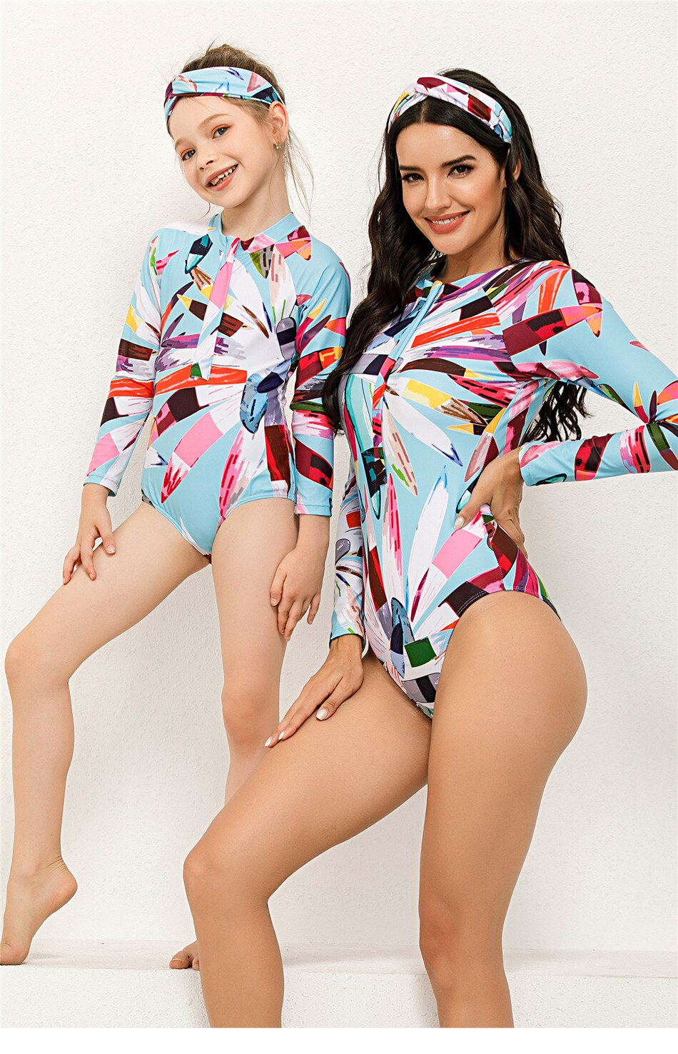 basel mommy and me swimsuit www.ellmii.com