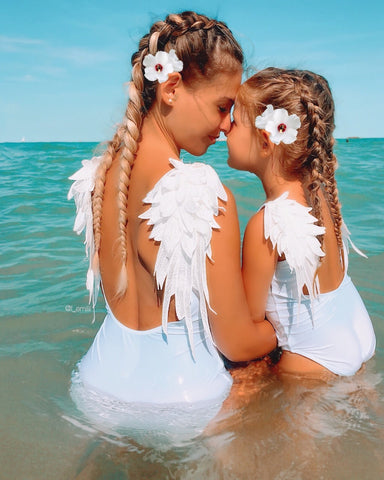 Angel Mommy & Me Swimsuit - EllMii Boutique