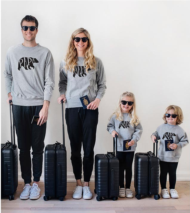 Bear Family Matching Sweaters - EllMii Boutique