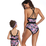Floral Pink Swimsuit - EllMii Boutique