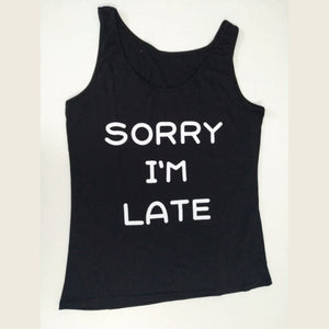 Sorry I'm Late T-Shirt - EllMii Boutique