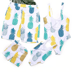 Pineapple Express Family Swimsuits - EllMii Boutique