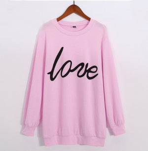 Lovely Love Sweater - EllMii Boutique