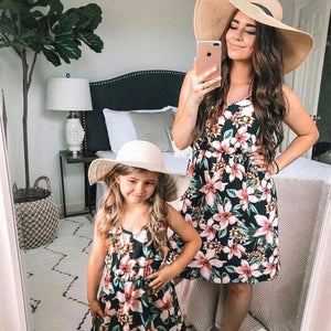 Pink Flower Dresses - EllMii Boutique