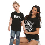 Double Trouble Matching Tee's