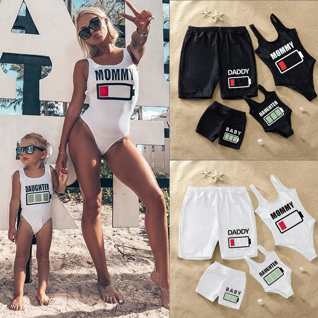 Family Battery Swimsuits - EllMii Boutique