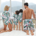 Palm Tree Family Swimsuit