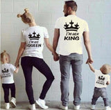 Family King & Queen Matching T-Shirt