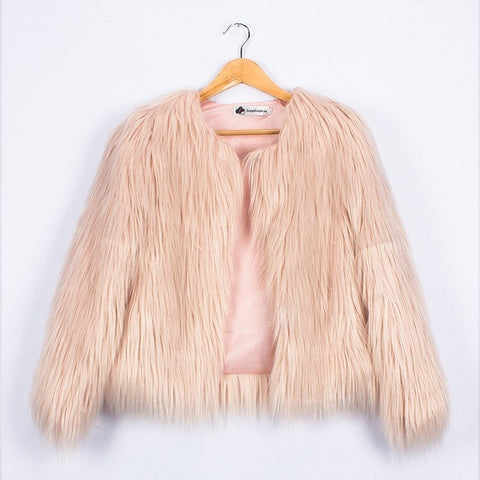 EllMii Faux Fur Jacket