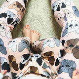 Bulldog/Motorcycle Matching Tights