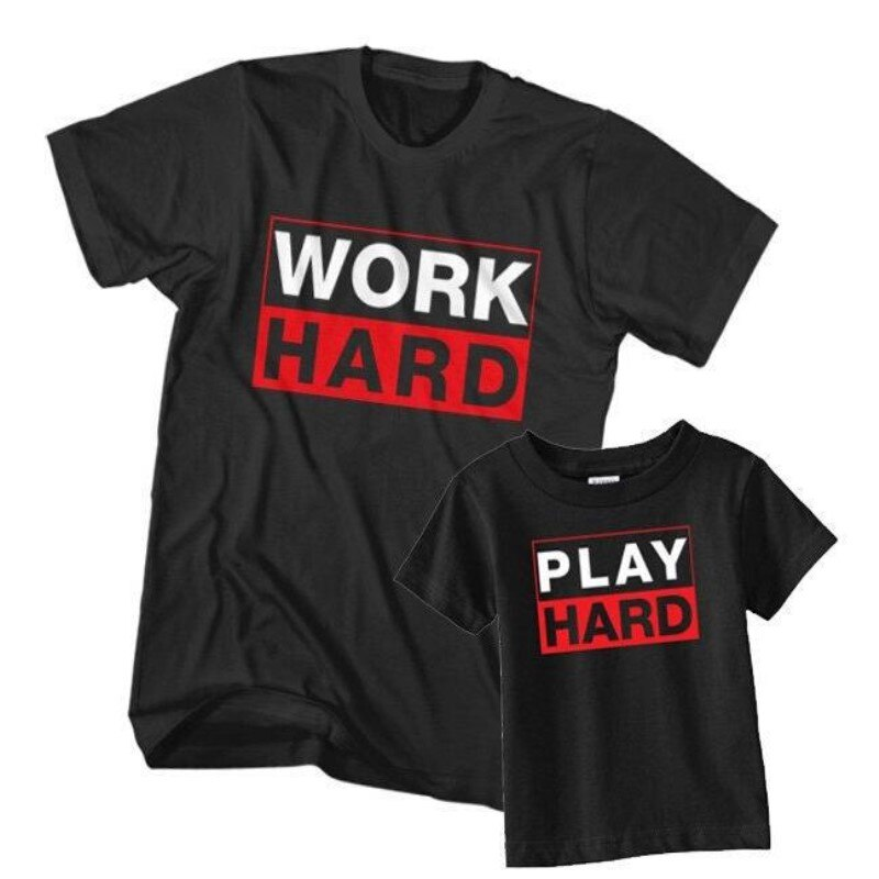 Work & Play Hard - EllMii Boutique