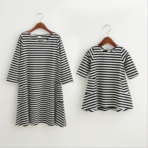 Zebra Striped Light Dress