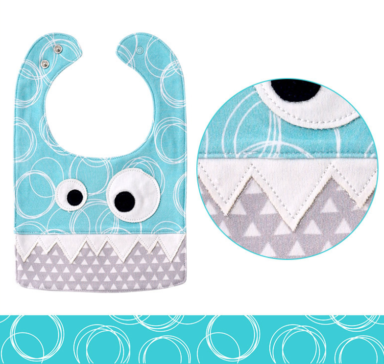 Bubbles Monster Bib