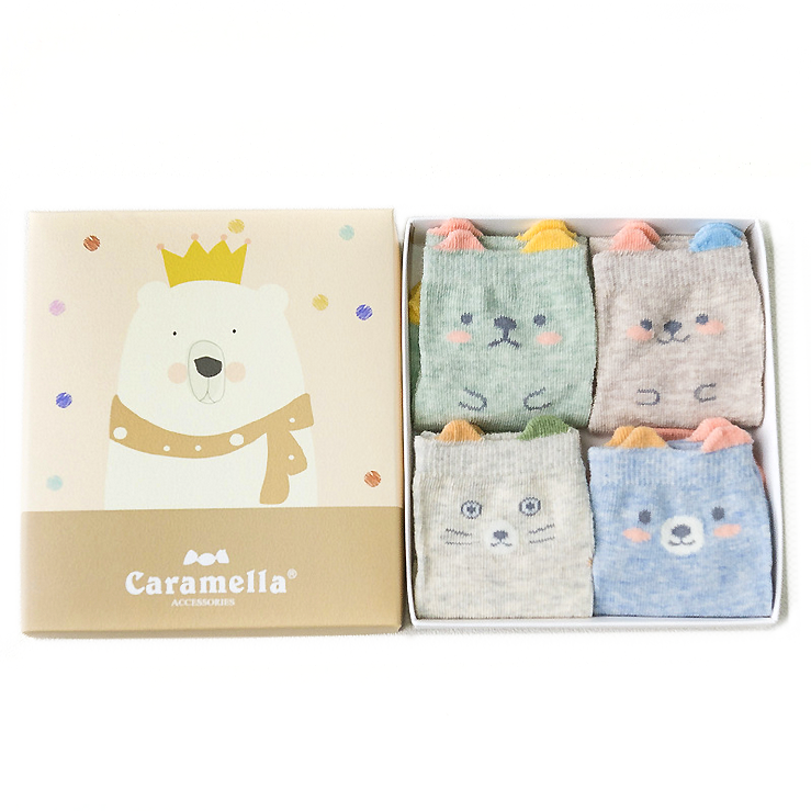 Bear Wonderland Socks Set