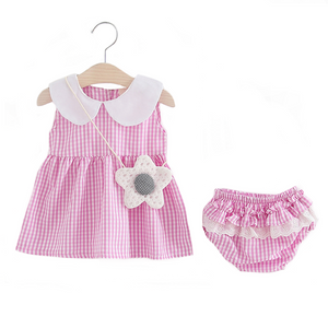 Gloria Pink Separate Set