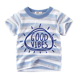 Good Vibes Blue T-shirt