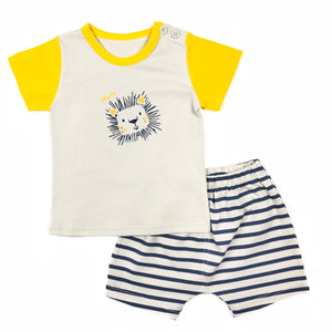 Lion Tee & Shorts Set