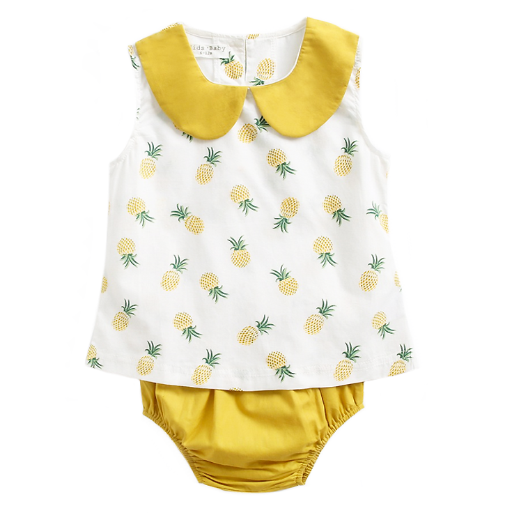 Maisy Pineapple Separate Set