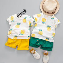 Pineapple Tee & Shorts Set