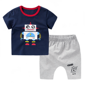 Robot Tee & Short Set