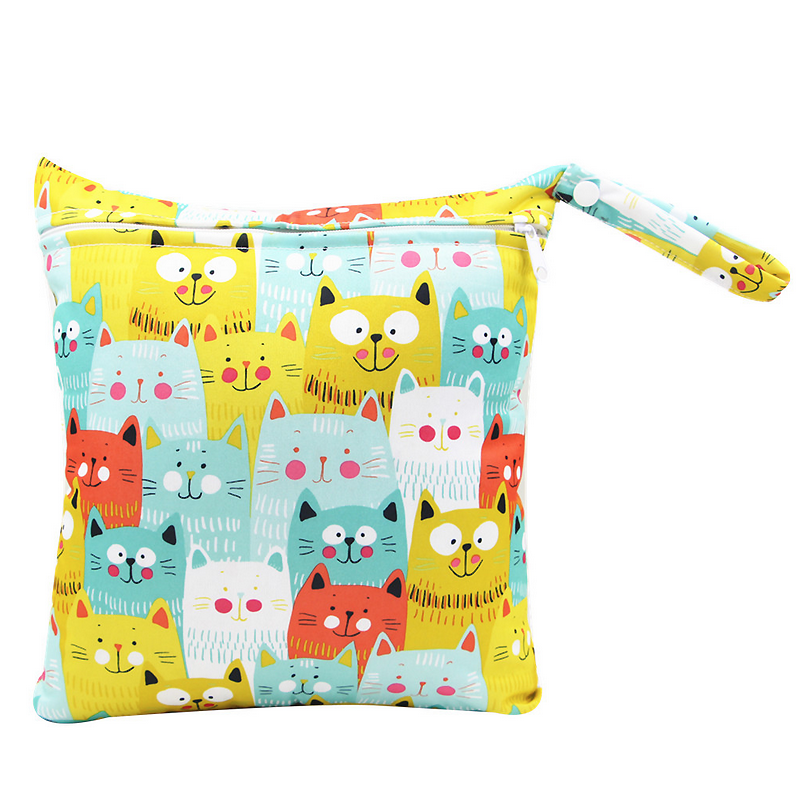Cats Everywhere Wet Bag
