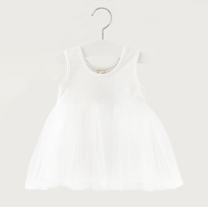 Poppy Tutu Dress in White