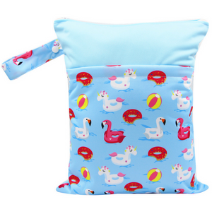 Fun Times Bi-colour Double Zip Wet Bag