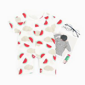 Fruity Watermelon Muslin Onesie