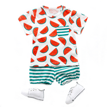 Watermelon Tee & Shorts Set