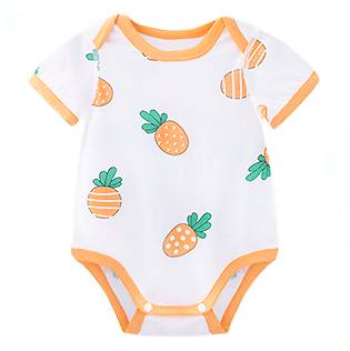 Pineapples Everywhere Mesh Romper