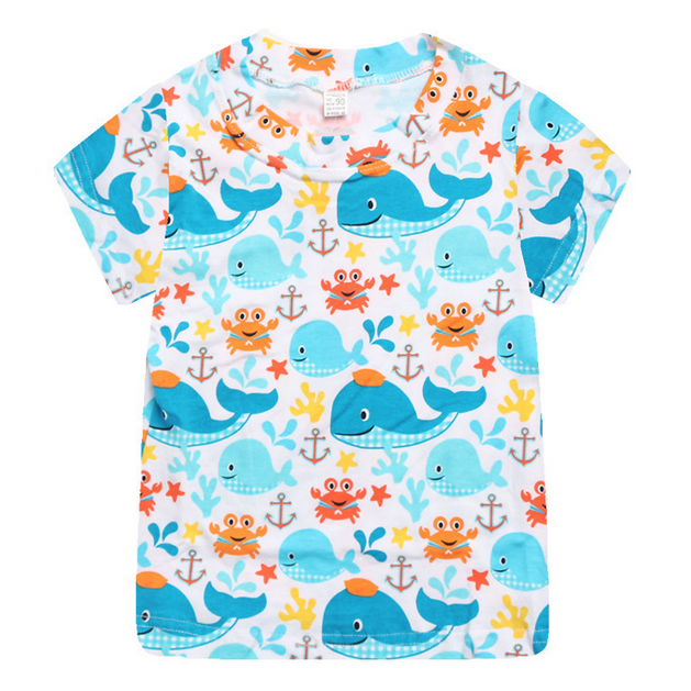 Whale and Friends Tshirt