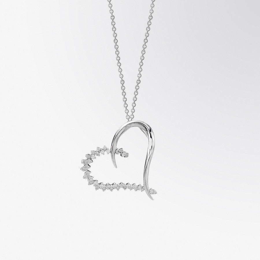 Fifth bond heart shaped diamond pendant heart shaped diamond pendant aloadofball Gallery