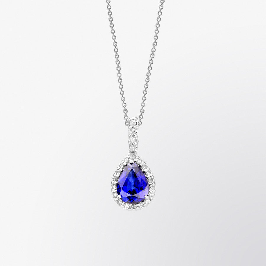 blue pear bond pendant products and fifth s a shaped diamond sapphire