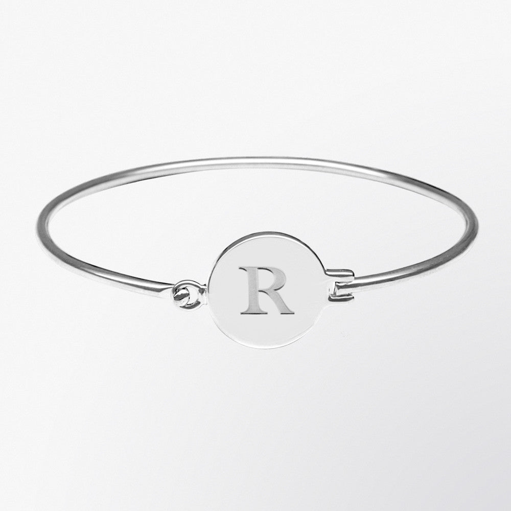 Personalized Initial Bangle