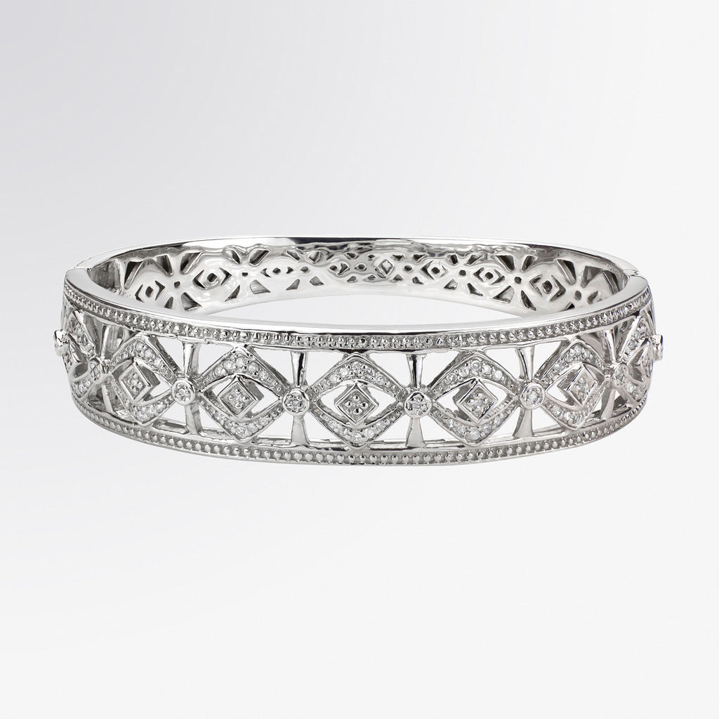 Statement Diamond Cuff Bracelet