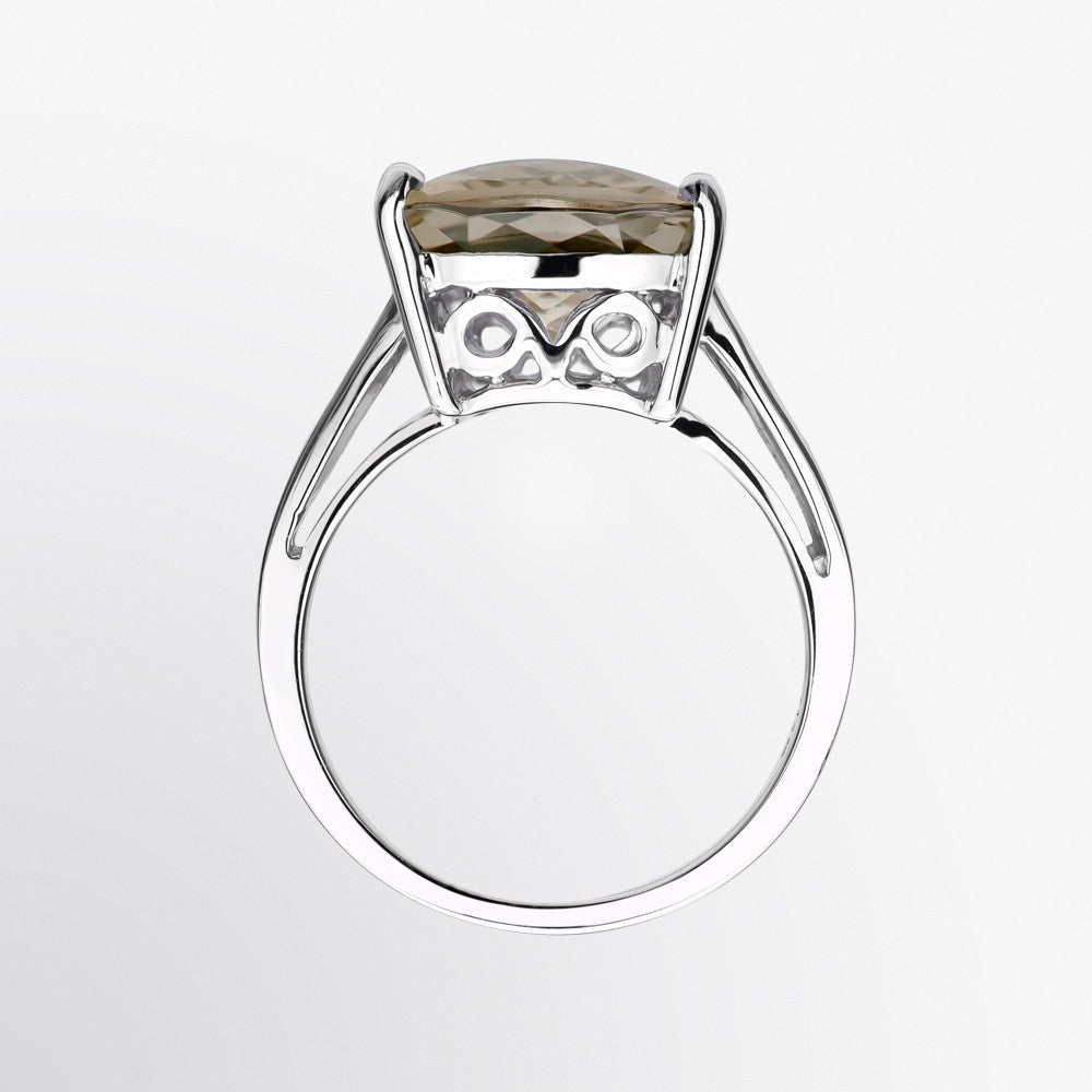Well-known Fifth Bond | Smoky Topaz and Diamond Ring CA14