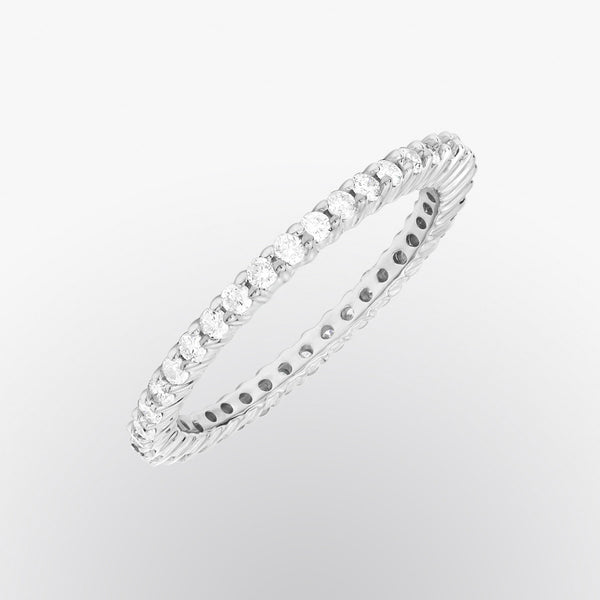 Prong Set Diamond Eternity Ring