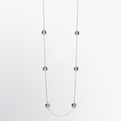 Smoky Topaz Layer Necklace