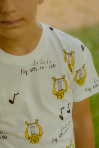 All Over Apollon's Lyre T-Shirt