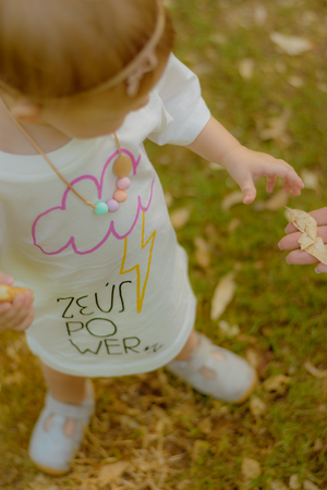 Zeus Power Pink T-Shirt