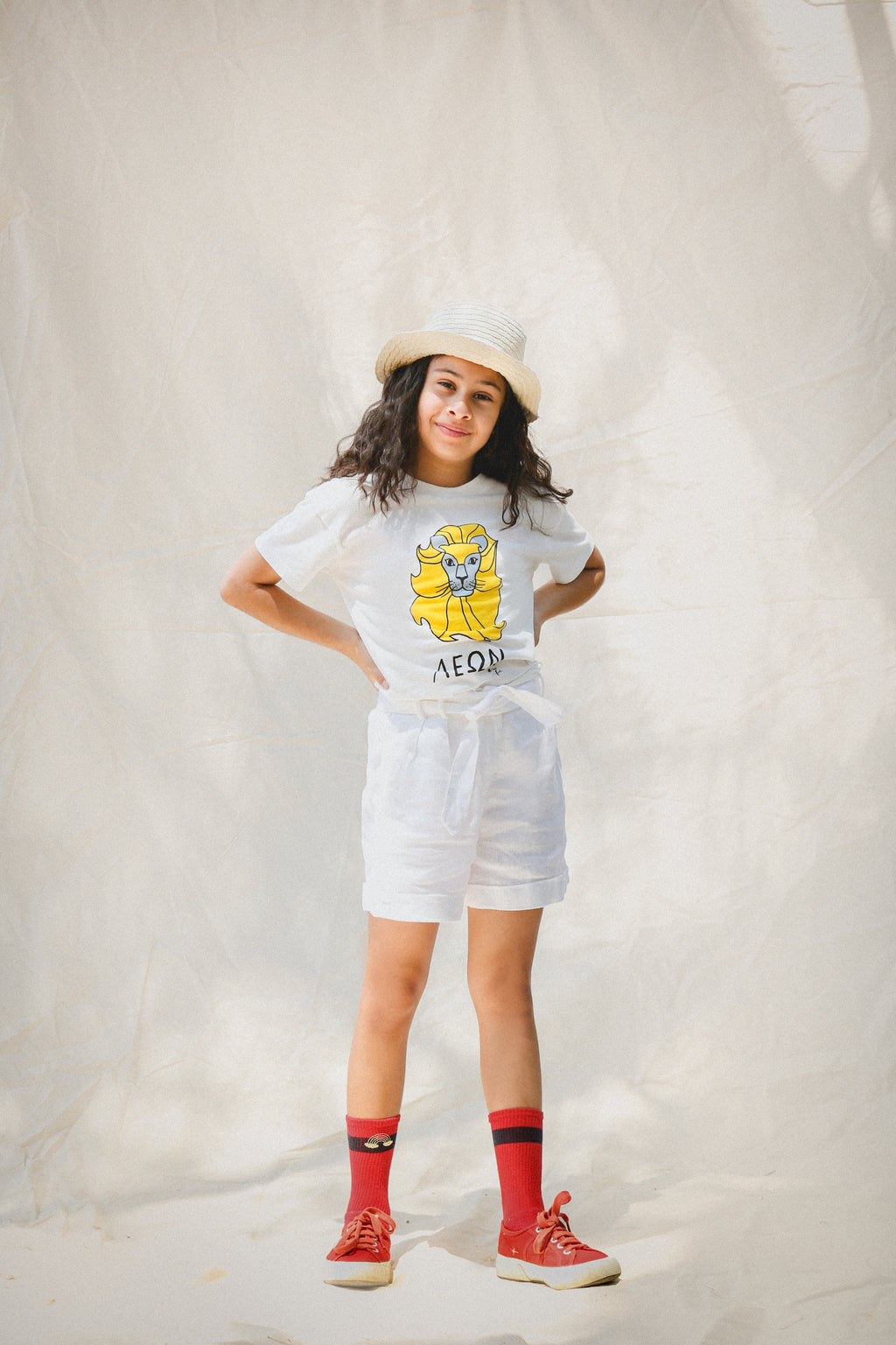 Lion Yellow T-Shirt