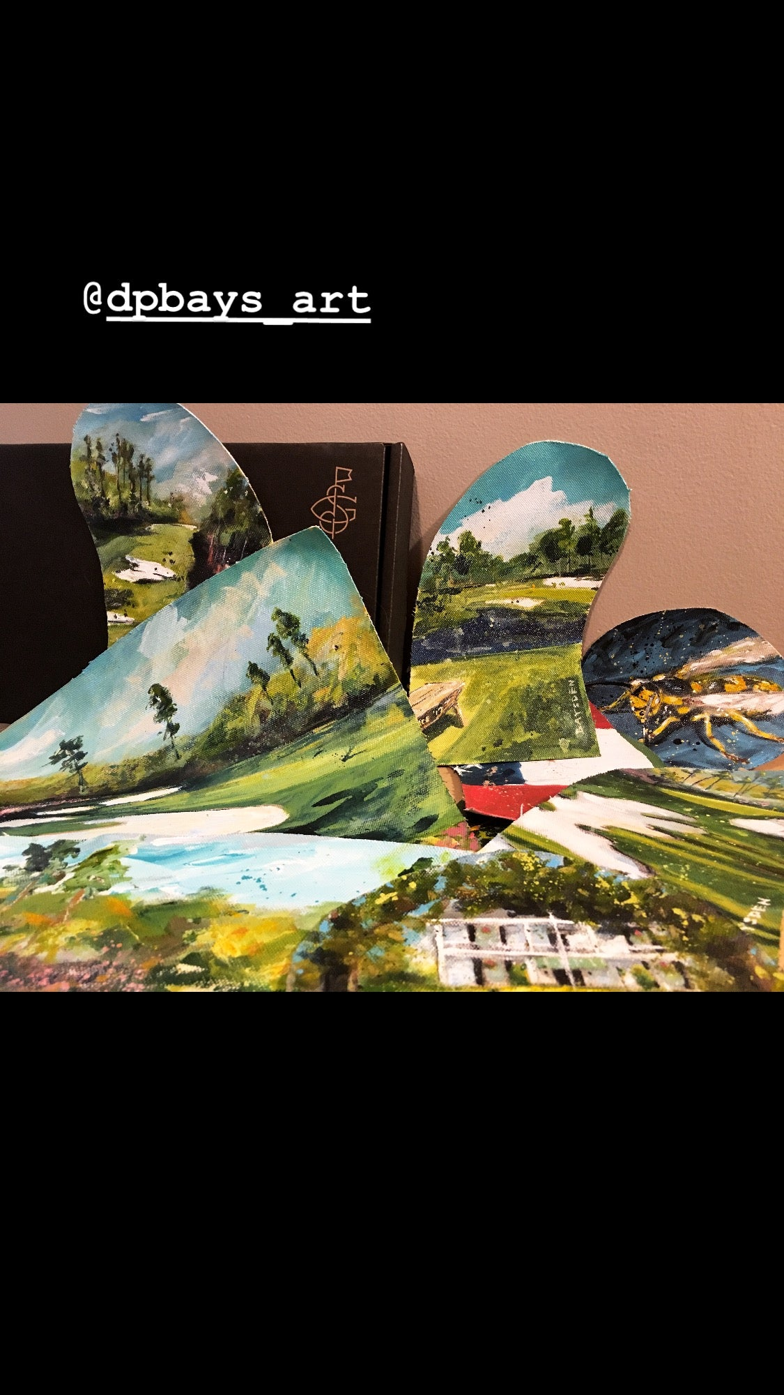 Matt Kuchar's Head Covers Painted
